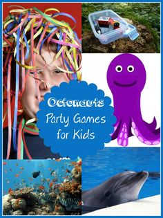 If your kids birthday party is an Octonauts theme, these Octonauts Party Games For Kids are perfect for you!