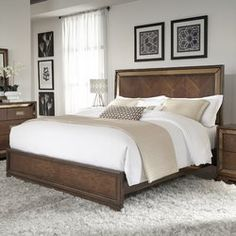 Price comparison Frederic Panel Bed By Willa Arlo Interiors Home Panel, Panel Bed, Bedroom Furniture, Furniture Sets, Bedroom Decor, Brown Furniture, Kitchen Furniture, Bedroom Wall, Platform Bed Frame