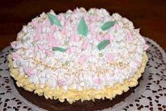 "Torta ""Oblíž prst"", recept, Torty | Tortyodmamy.sk Cake, Desserts, Food, Pie Cake, Tailgate Desserts, Pastel, Meal, Dessert, Eten"