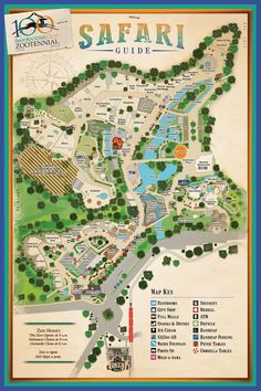 Map Of The San Diego Zoo World Exploring Pinterest San Diego - San diego zoo map