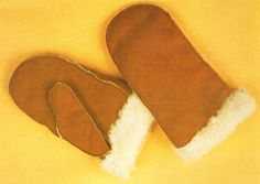 How to Make Leather Mittens & Leather Gloves