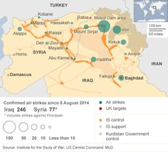 isis controlled territory january 2015 - Google Search