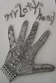 My Left Hand by craftydr, via Flickr