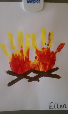 Campfire Handprints