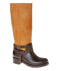 Look what I found on #zulily! Passions Footwear Camel Fiji Rain Boot by Passions Footwear #zulilyfinds