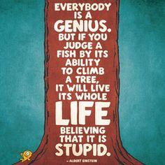 Quotes #fish #tree #albert #einstein