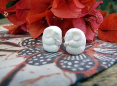 Little Elephant Bead in Carved Bone by Indounik on Etsy, $5.00