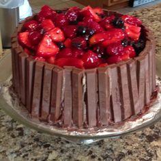 Kit Kat cake :)