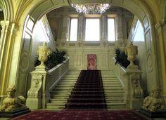 Yusupov Palace staircase.