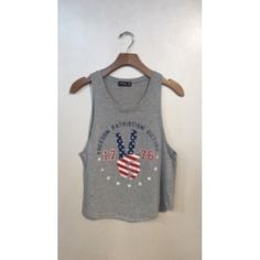 Freedom Patriotism Victory 2 for $40! Tops Tank Tops