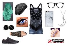 """""""BRB"""" by pokergirl77 ❤ liked on Polyvore featuring Dsquared2, Current/Elliott, Disney, Wet Seal, Zero Gravity, Converse, Allurez and Chapstick"""