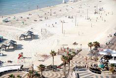 Israele, la spiaggia di Tel Aviv
