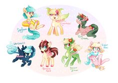 MLP Adoptable Auction ~ Various (CLOSED!) by tsurime on DeviantArt