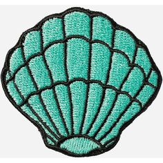 Seashell Sticker Patch ($4.99) ❤ liked on Polyvore featuring accessories, random and stoney clover lane