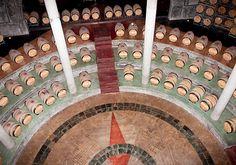 Barrel Room at Bodega Salentein, Mendoza Argentina