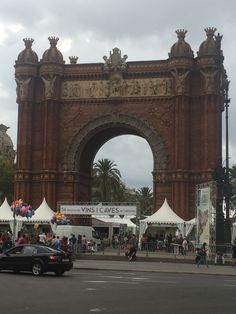 The Arc de Triomf was built in 1888 for the Barcelona World Fair. It possesses an awesome Romanesque archway that was built by Josep Vilaseca i Casanovas.