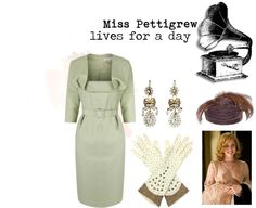 """Miss Pettigrew."" by ladylindy on Polyvore"