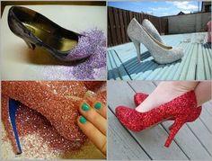 12 ideias para customizar sapatos