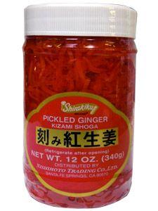 Shirakiku Kizami Beni Shoga    -with nearly every thing i eat w. rice
