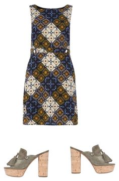 """Untitled #121"" by aayushis on Polyvore featuring Casadei and Dorothy Perkins"