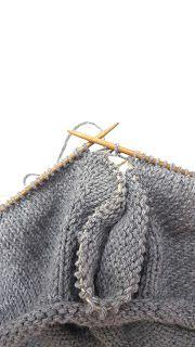 Elengiina: Ylhäältä alas neulottu paita + Helppo ohje Knitting Projects, Maybelline, Knitted Hats, Shawl, Crochet, Pattern, How To Make, Handmade, Accessories