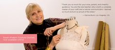 Susan Khalja will be having online classes. My favorite sewing instructor