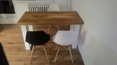 Industry wood table