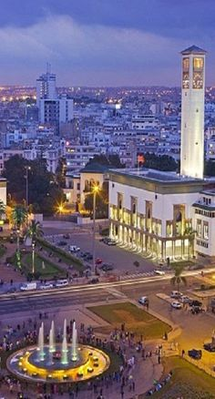 Casablanca, Morocco - Explore the World with Travel Nerd Nici, one Country at a Time. http://TravelNerdNici.com