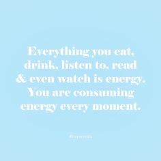 To keep in mind!!  We are energy be positive energy! #toystyle #toywords #energy #everythingisenergy #positivevibes