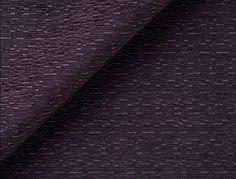 Naxos - Jim Thompson Fabrics 100% Trevira CS Curtains, upholstery. Eggplant color