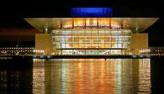 Copenhagen Opera, donated to the city by the late Mr. Mærsk Mckinney Møller