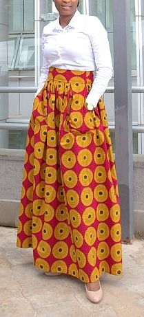 his skirt embodies our beautiful african heritage. With earthy orange and maroon colours, it is the perfect skirt for any weather. Zana Maxi Skirt/ African Print Skirt/ Circle Print Skirt/ Maxi Skirt/ Ankara Fabric/ Long Skirt/ Ankara maxi skirt. Ankara | Dutch wax | Kente | Kitenge | Dashiki | African print dress | African fashion | African women dresses | African prints | Nigerian style | Ghanaian fashion | Senegal fashion | Kenya fashion | Nigerian fashion | Ankara crop top (affiliate)