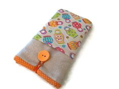 iPhone 6S Fabric case / Padded iPhone SE sleeve / by Driworks