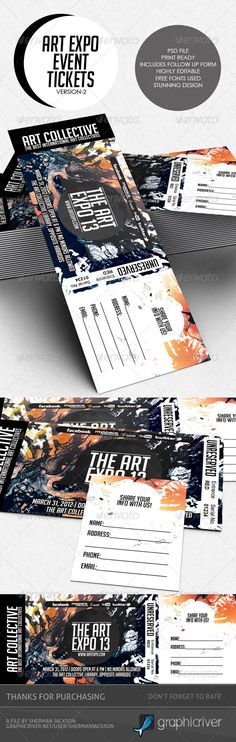 branding by nathan godding for an imagined, modern circus The - How To Design A Ticket For An Event