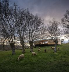 Berrocal House - A modern open-plan home in Berrocal, Segovia, Spain. Designed CH+QS.  ~ click on photo for more ~