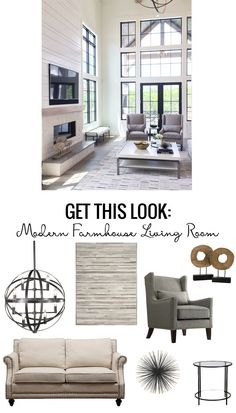 Simple and easy tips to give you the modern farmhouse living room you always dreamed of!