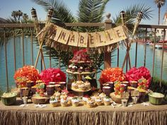 I like this its a little different than the usual hula theme parties.