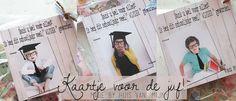 """Kaart bedankt Juf!...made by Huis van """"Mijn"""""""