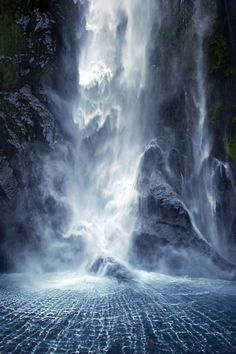 Milford Sound in New Zealand by Iaona