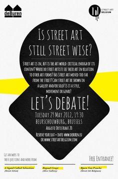 Debate on Street Art on The Loop
