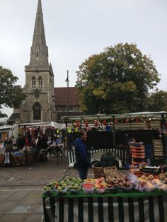 Romford Market over 300 years of History .