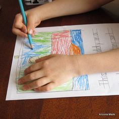 Downloadable draw and write printable- similar to Handwriting without tears