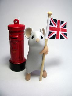 British Mouse by QuernusCrafts, via Flickr