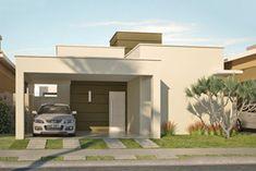 casa pequena e moderna fachada - Pesquisa Google