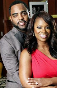 Real Housewives of Atlanta Star Kandi Burruss Shows Off Her Engagement Ring Hot Couples, Famous Couples, Couples In Love, Power Couples, My Black Is Beautiful, Beautiful Couple, Black Love, Beautiful Things, Black White