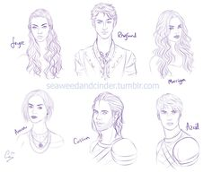 Night Court Squad Character Sketches by Zombie-Sasquatch on DeviantArt