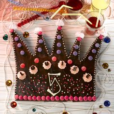 Prinsessekronekake i sjokolade