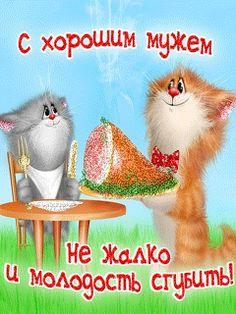 View album on Yandex. Kitten Cartoon, Cute Cartoon, Crazy Cat Lady, Crazy Cats, Animal Drawings, Cute Drawings, Good Morning Coffee Gif, Cat Cupcakes, Black Rose Tattoos