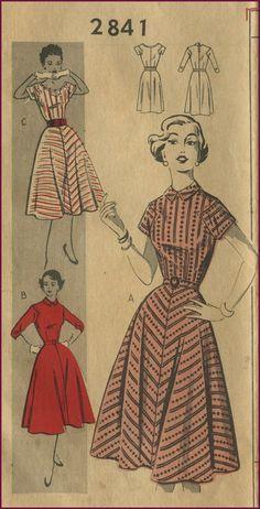 circle skirt #sew #vintage #dress