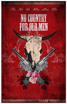 No Country for Old Men. On my top 20 greatest films ever! Brothers Movie, Coen Brothers, Old Film Posters, Cinema Posters, Excellent Movies, Great Movies, We Movie, Alternative Movie Posters, Tv